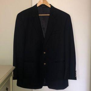 Ralph Lauren navy blazer with gold buttons